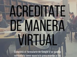 Acreditate de manera virtual